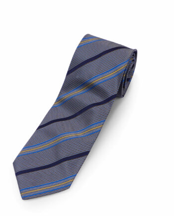 Gianfranco Ferre Brown Striped Silk Tie