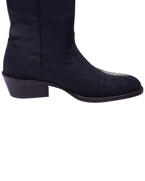 Angelo Galasso Signature Stingray Leather Boots-3