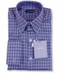 Tom Ford Luxury Designer Black Grey Plaid Casual Shirt on sal ein Vancouver