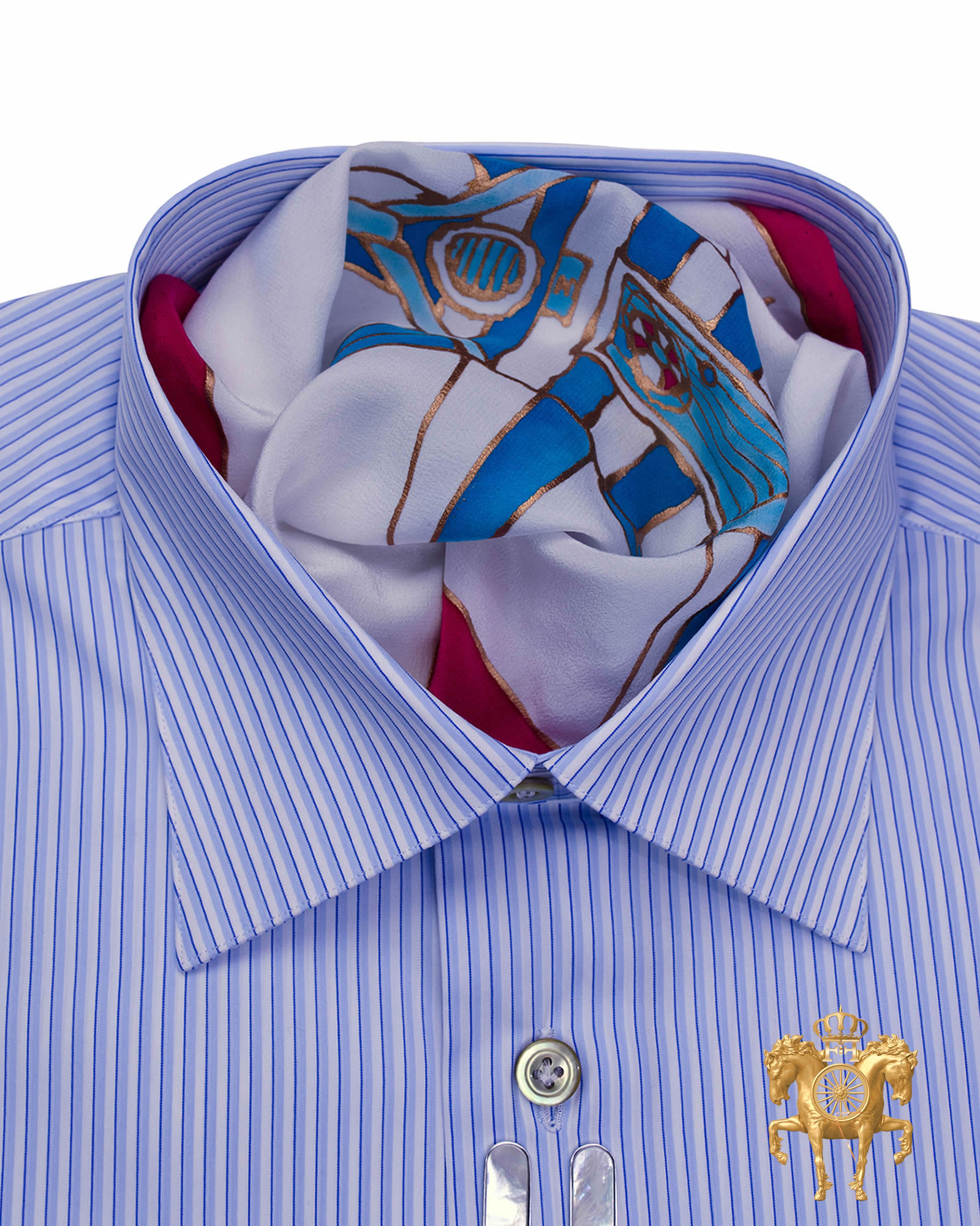 Ferruccio Milanesi Luxury Dress Shirt |quality men's dress shirts