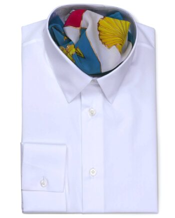 Classic Collar Tailored Fit White Shirts