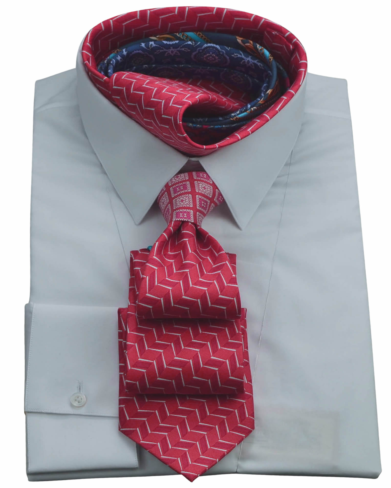Handcrafted Exclusive Masterpiece Red Necktie
