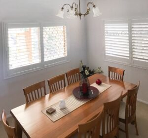 plantation shutters face fitted