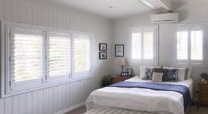plantation shutters white 89mm blade