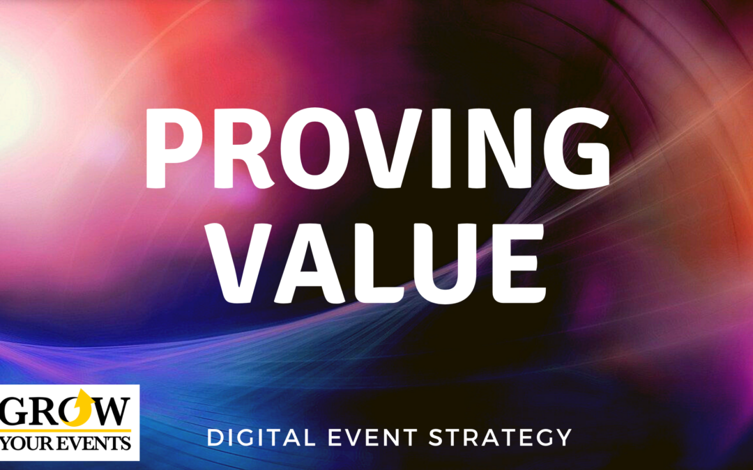 Proving Value of Digital Events