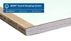 Sound Resistant Gypsum Drywall