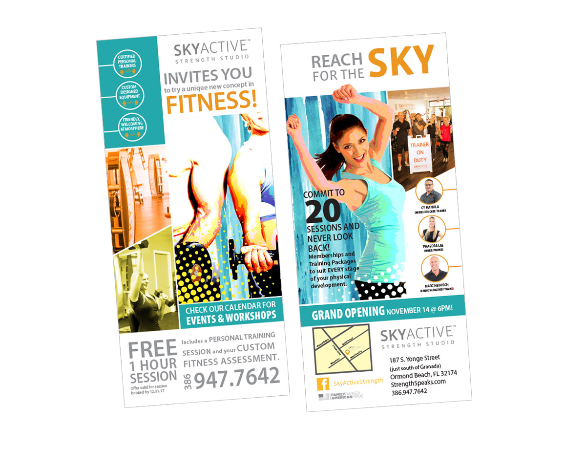 SkyActive Strength Studio fitness training ormond beach fl