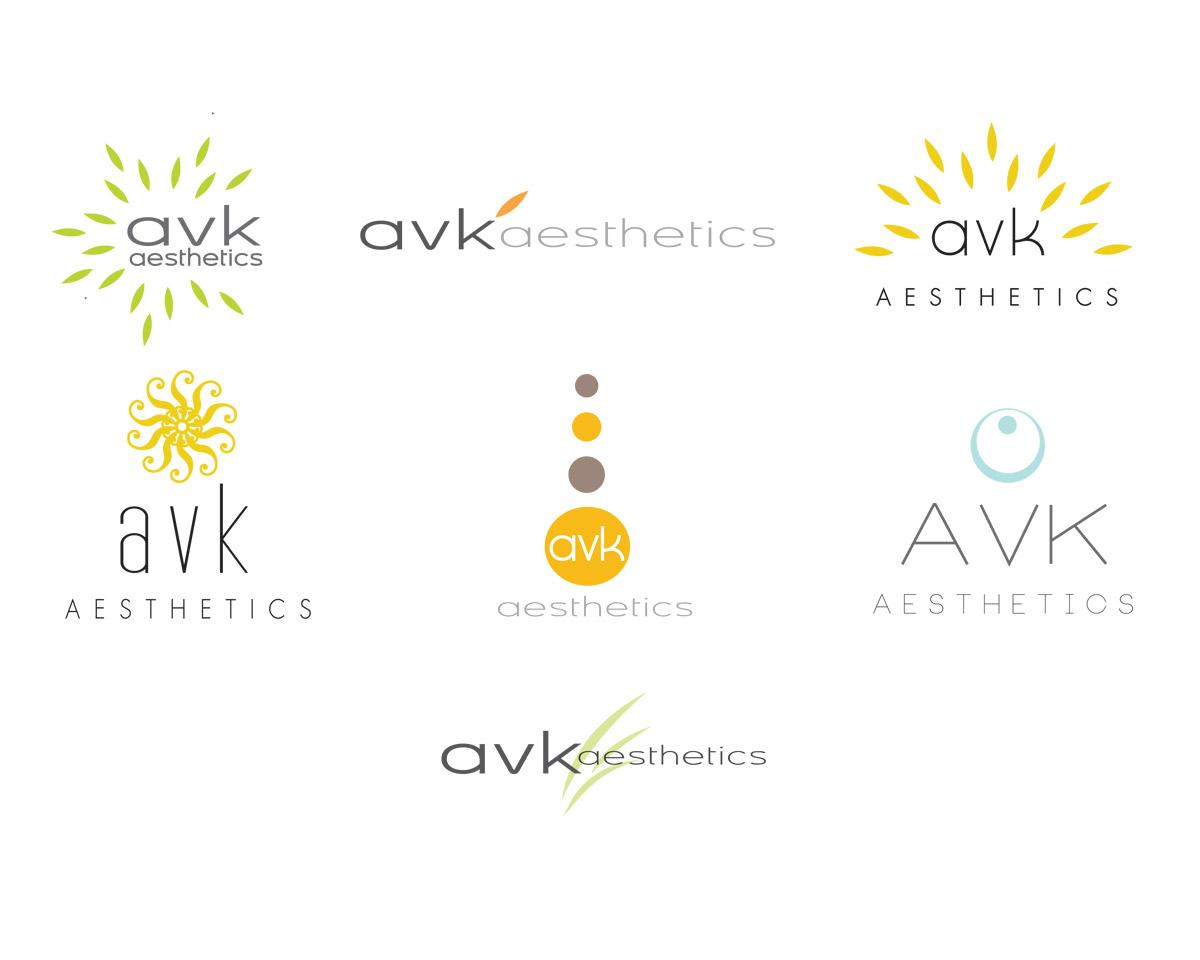 aesthetics logo concepts