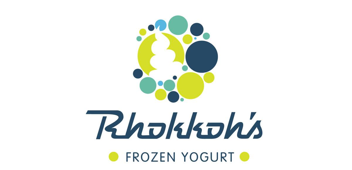 rhokkohs frozen yogurt logo