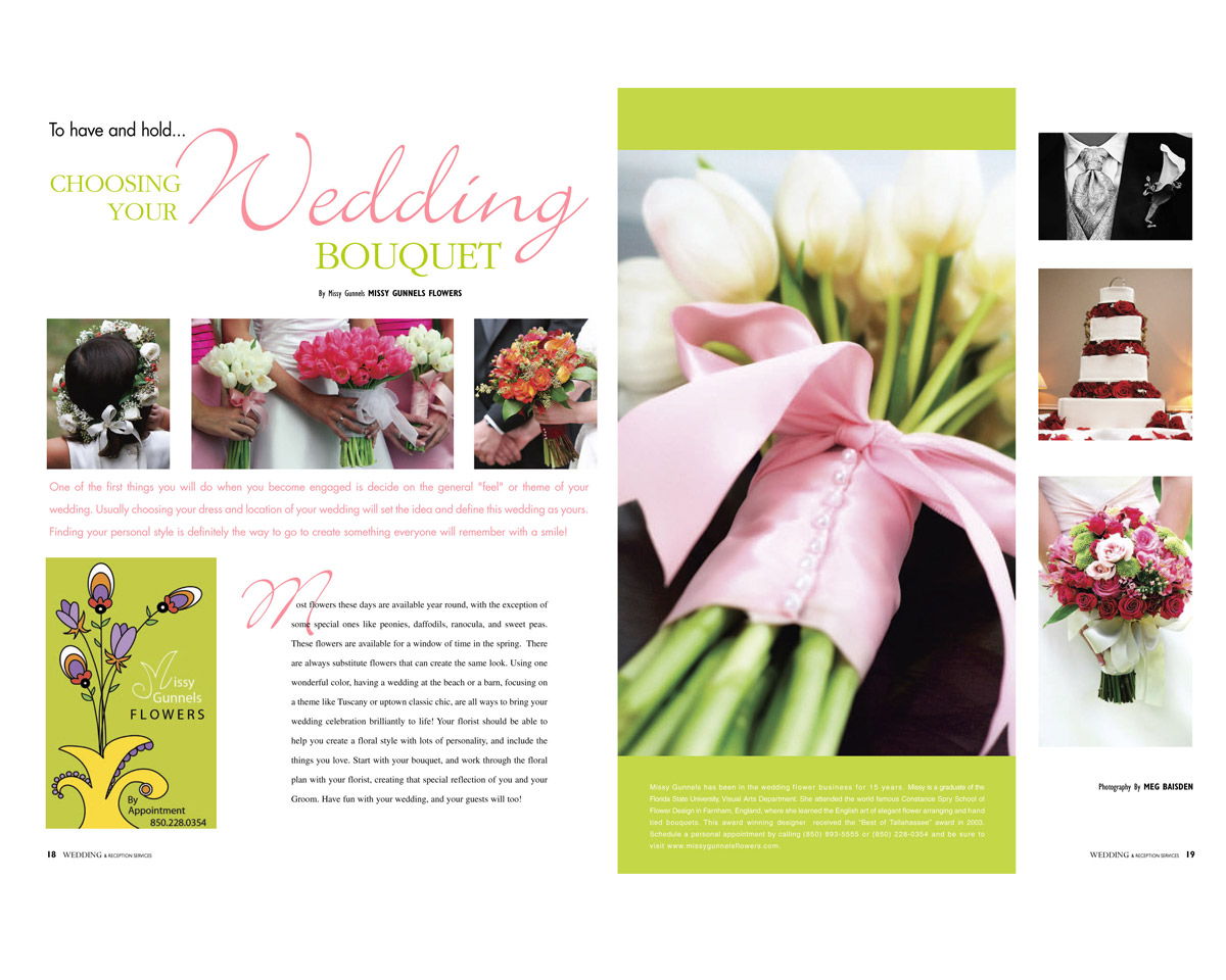 magazine page layout graphic design maureen jarrell