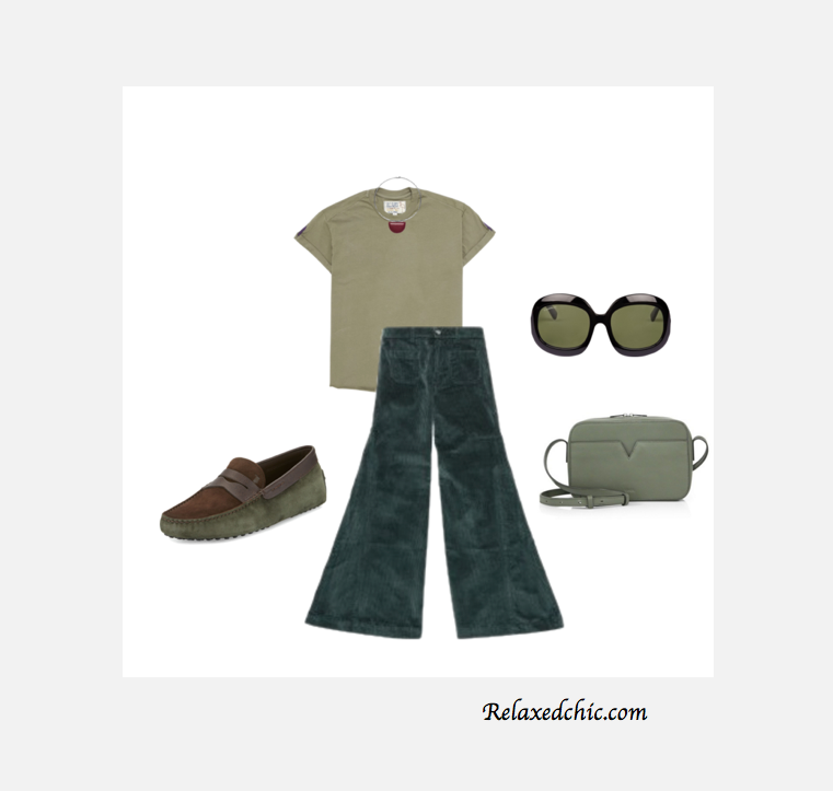 Olive outfit