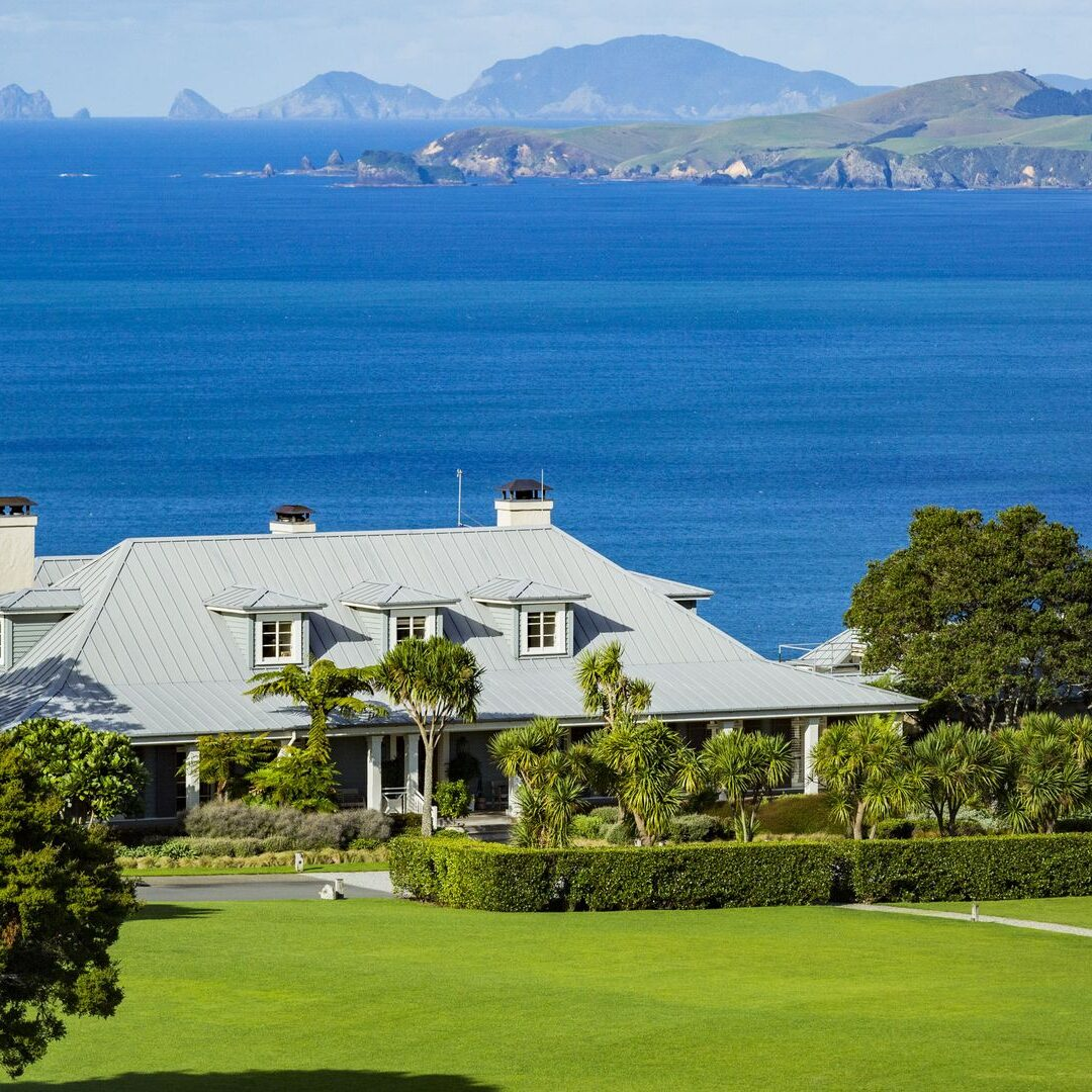 Kauri Cliffs Lodge exterior