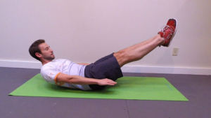 Hollow Hold position 2