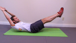 Hollow Hold position 3