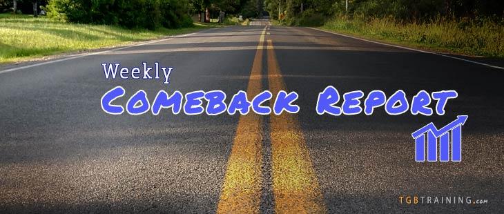 June 4 Weekly Comeback Report – Racing Yourself
