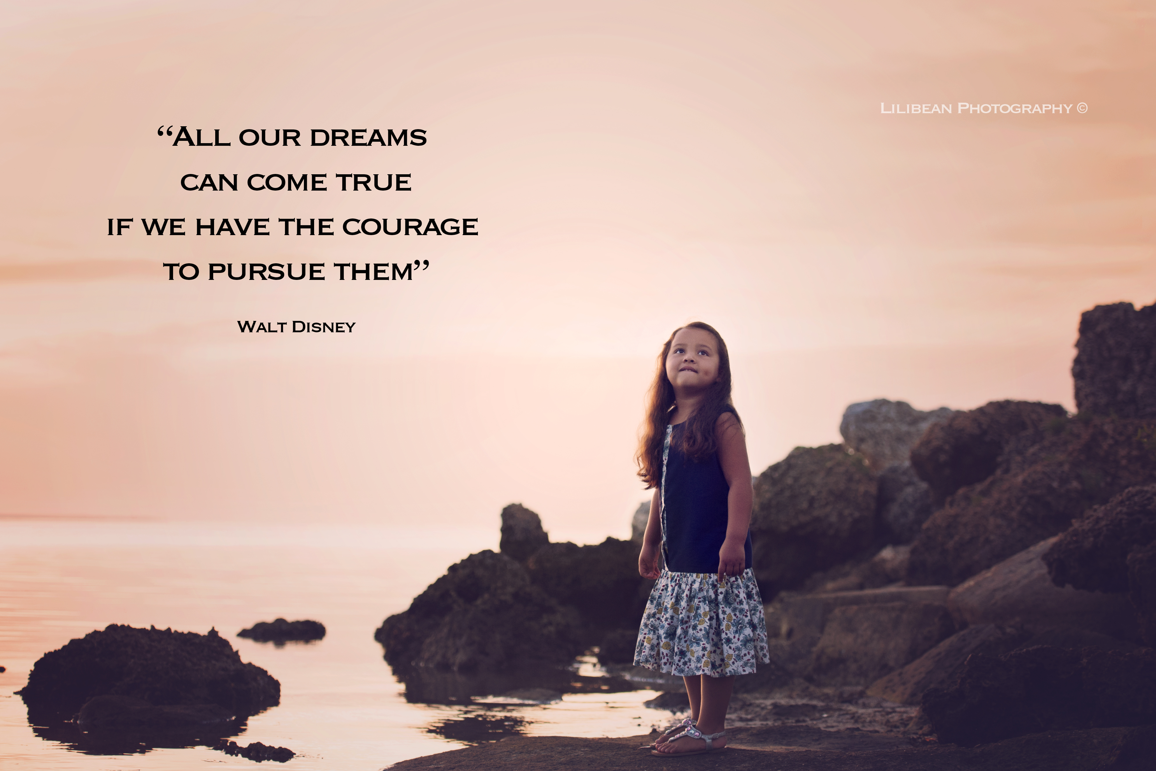 walt disney quote all our dreams can come true courage south florida photography best miami photography aventura florida pembroke pines newborn maternity