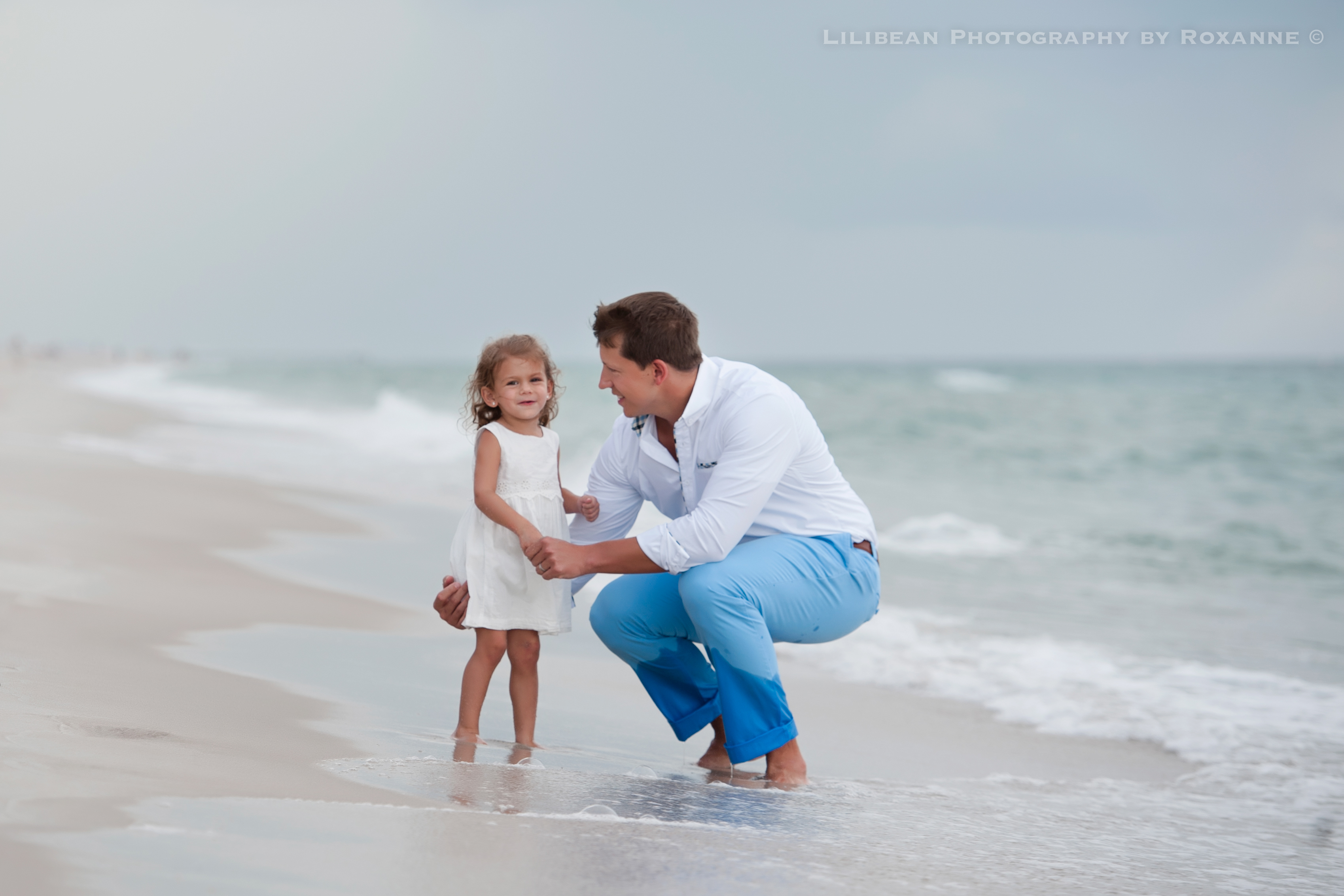2Daddy and Me Broward Photographer Aventura Sunny Isles Session Beach Family Lilibean Photography by Roxanne