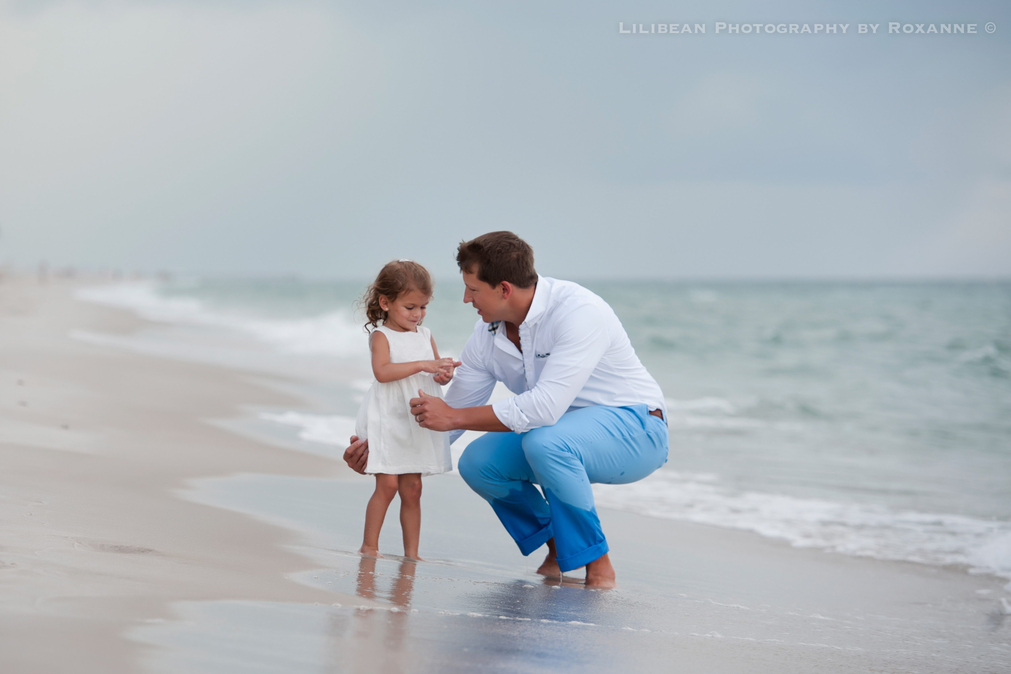 3Daddy and Me Broward Photographer Aventura Sunny Isles Session Beach Family Lilibean Photography by Roxanne