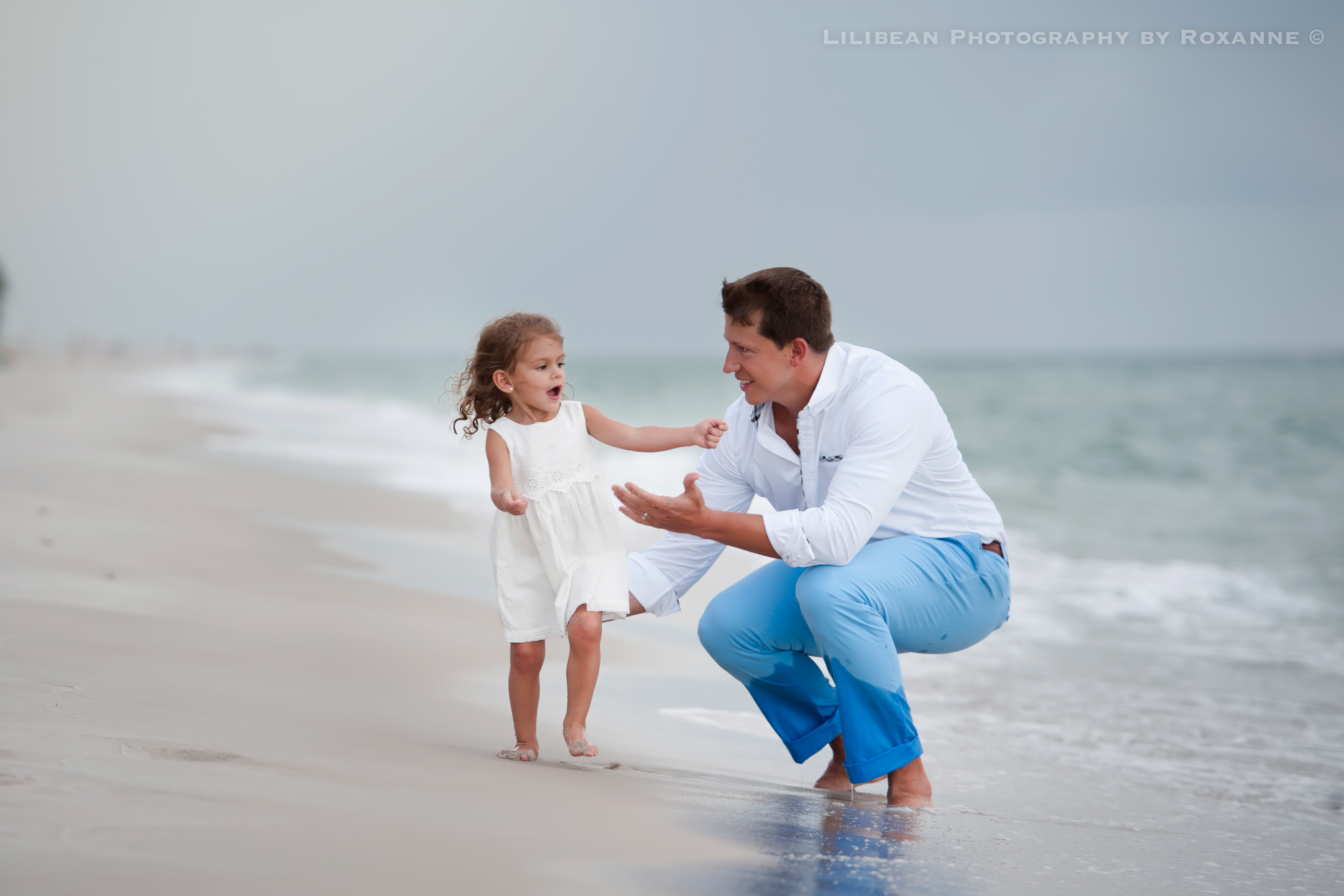 4Daddy and Me Broward Photographer Aventura Sunny Isles Session Beach Family Lilibean Photography by Roxanne