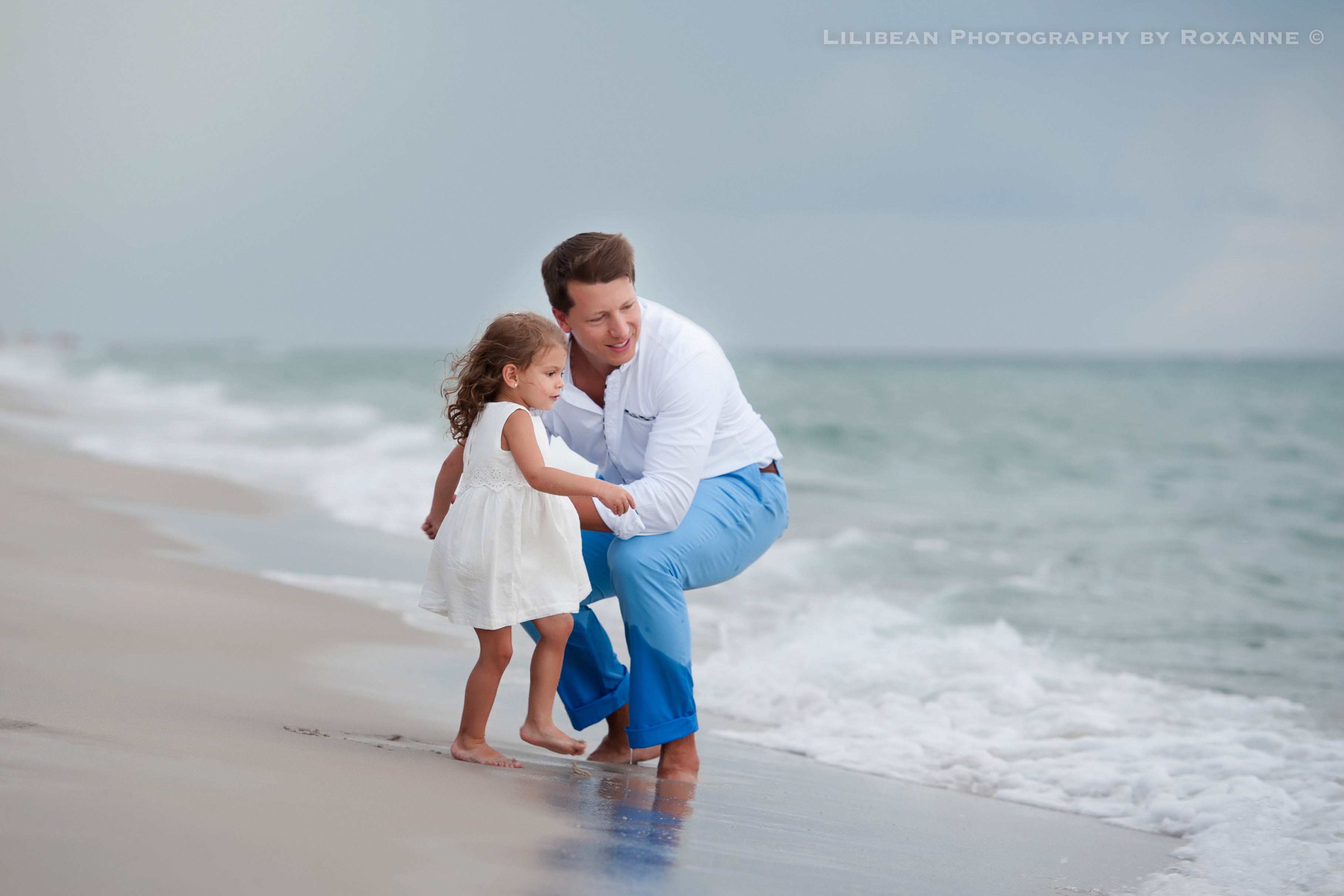 5Daddy and Me Broward Photographer Aventura Sunny Isles Session Beach Family Lilibean Photography by Roxanne
