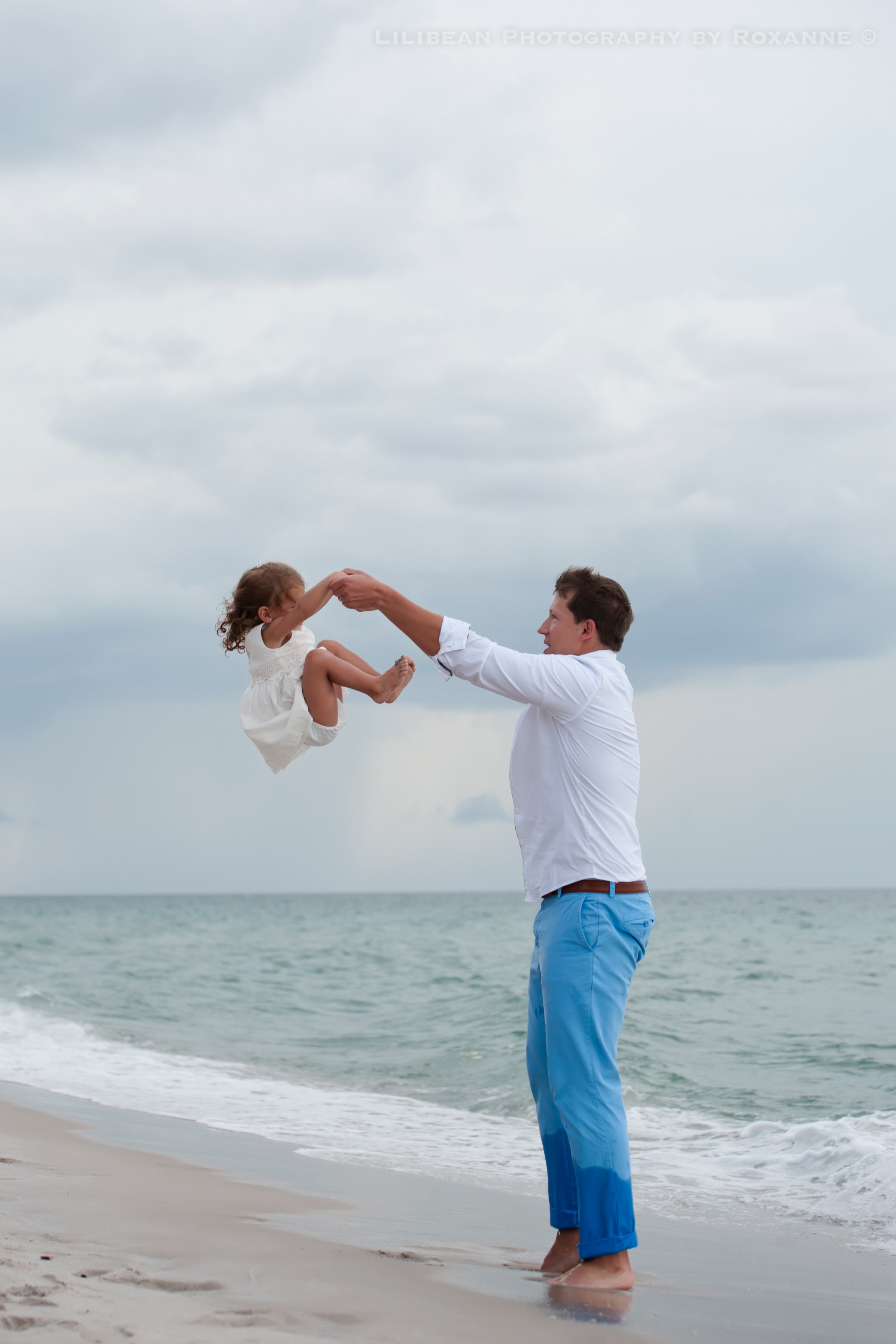 8Daddy and Me Broward Photographer Aventura Sunny Isles Session Beach Family Lilibean Photography by Roxanne