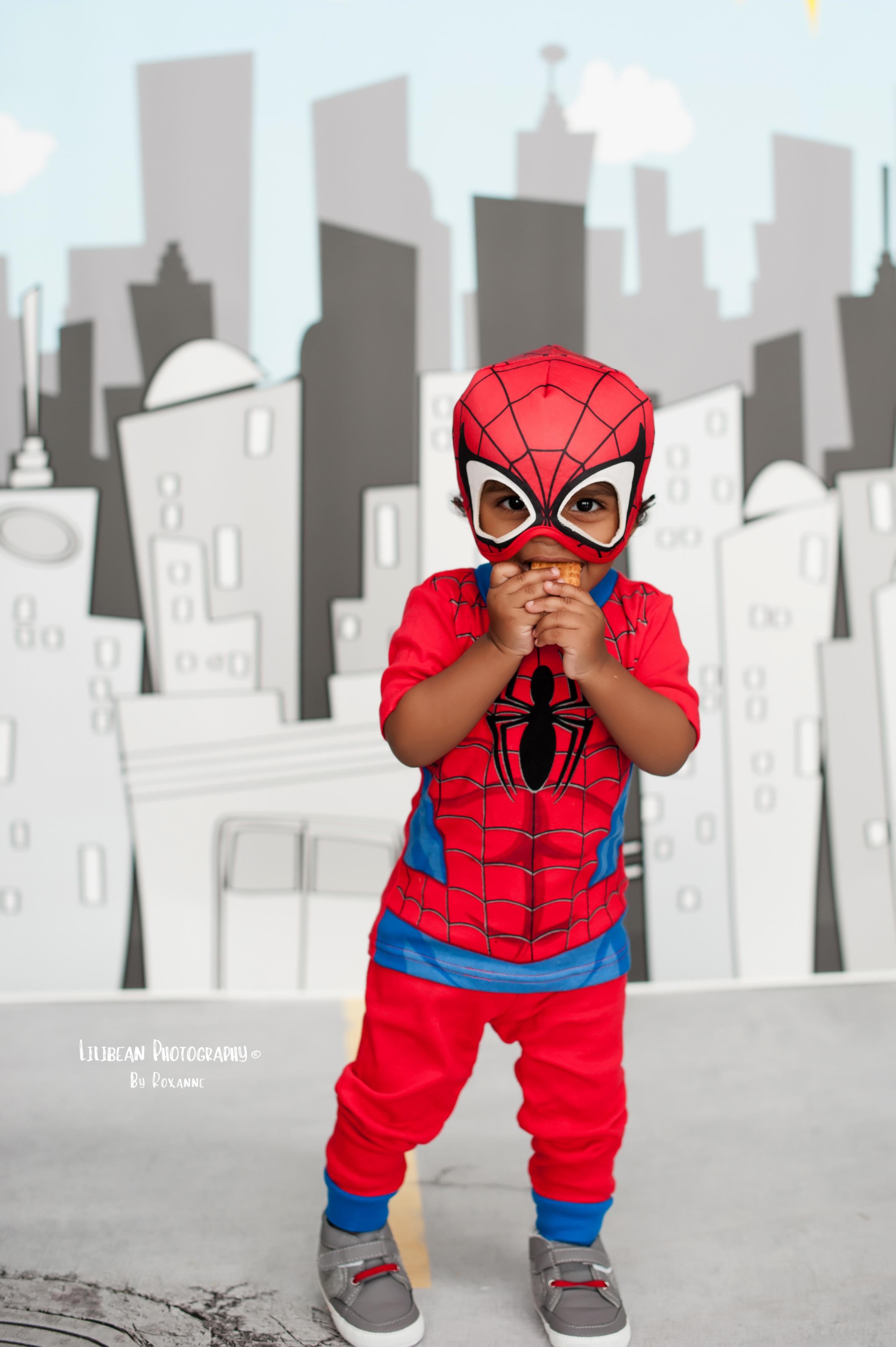 Spiderman Superhero Halloween Session