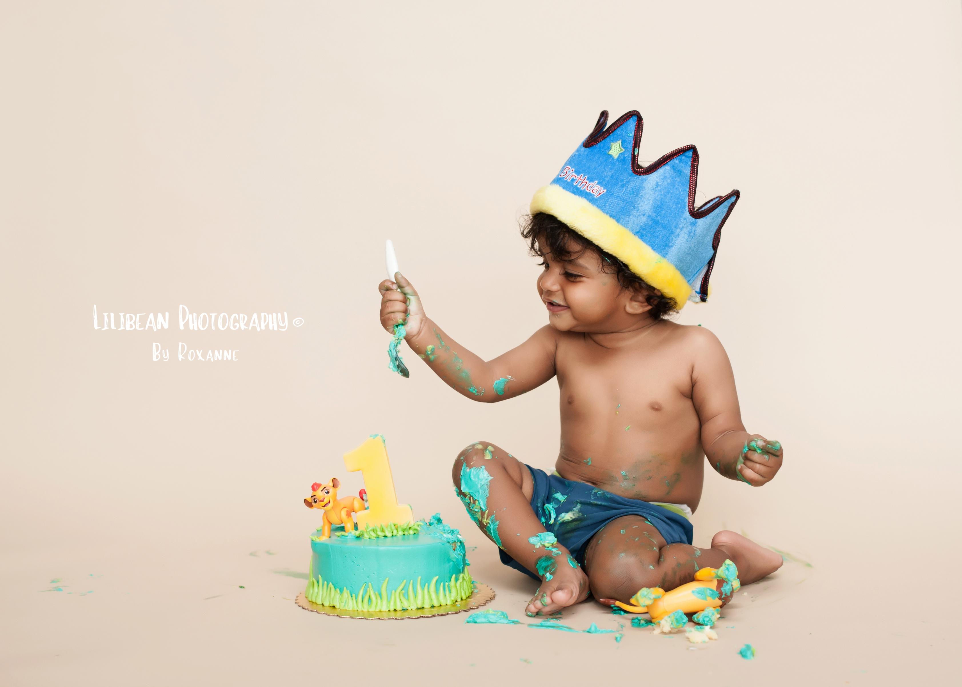 Birthday Prince Cake Smash Birthday Photos