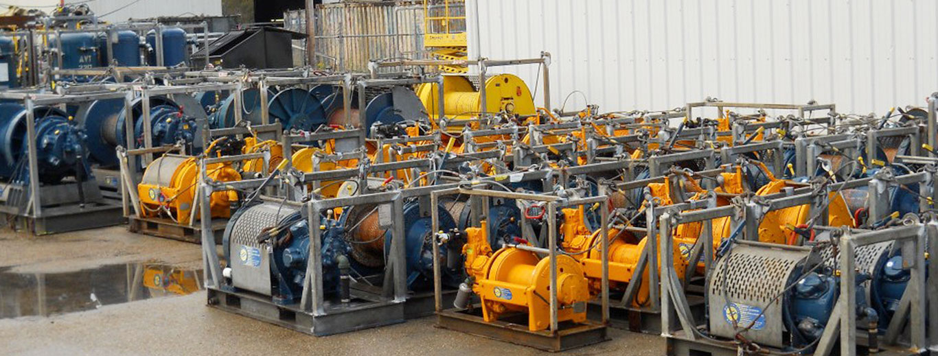 Equipment on site - Ready for Rental