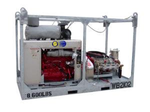 Water Blasting Rental Equpiment, Diesel Water Jetting, Offshore Power Sprayers