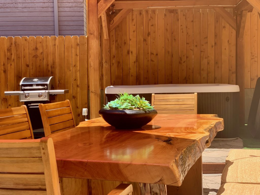 Beautiful handmade table