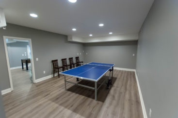 Basement Renovation 1