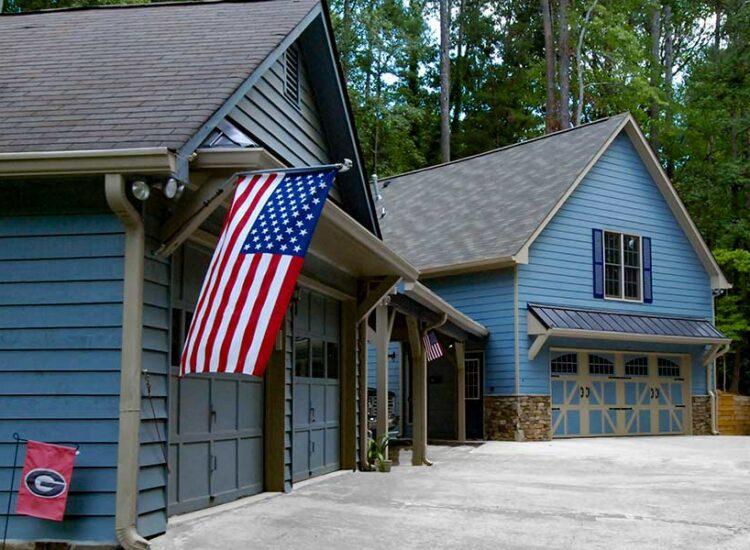Garage Addition Front View