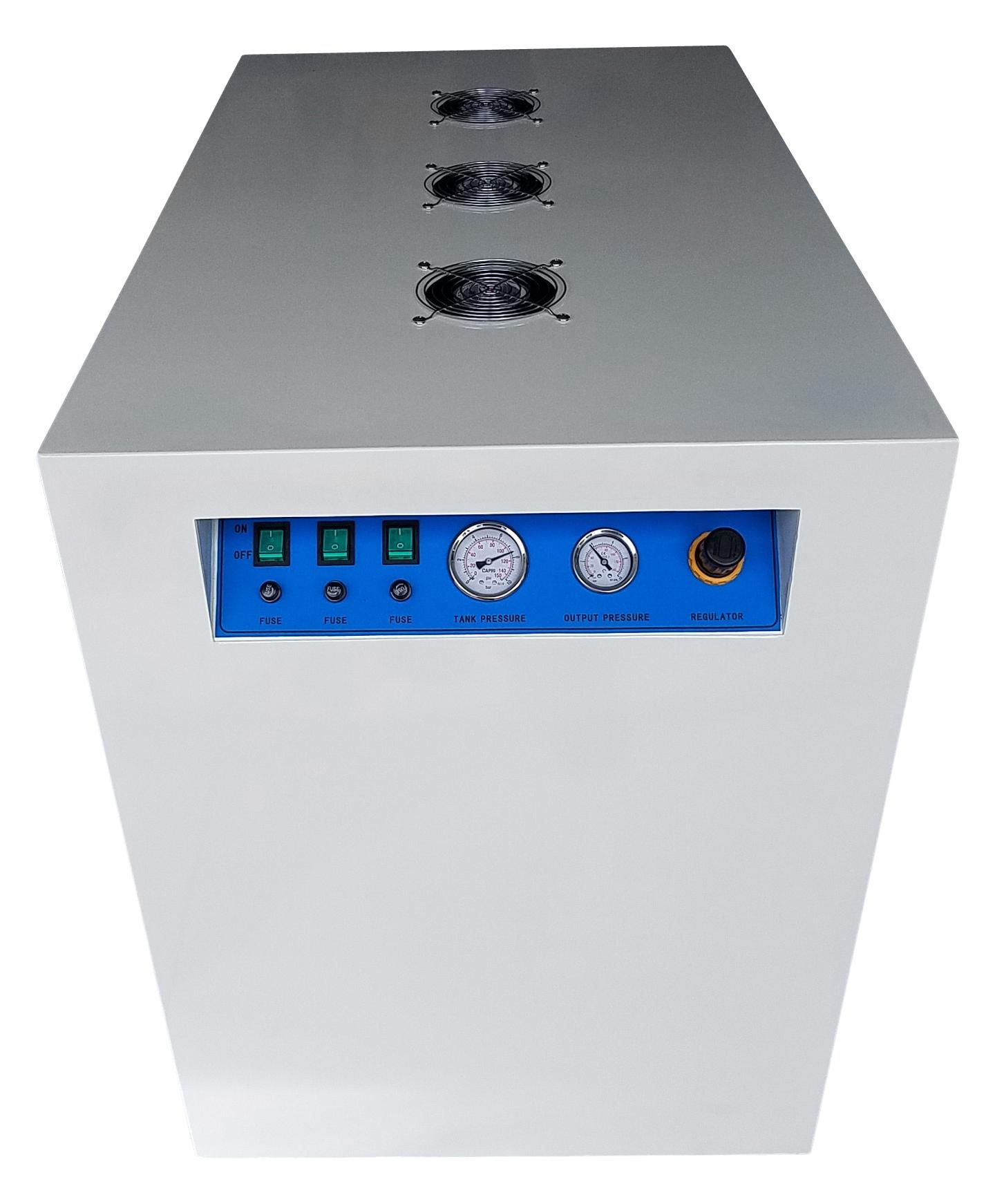 compressor quieting cabinet