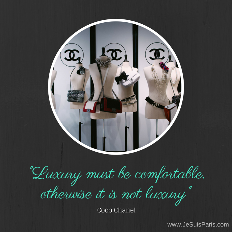 Coco Chanel Quote - Je Suis PARIS IMAGE