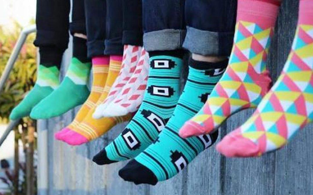 Life is Too Short for Plain White Socks