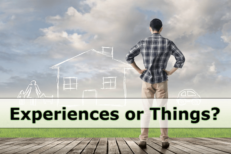Preferences: The Importance of Things or Experience?