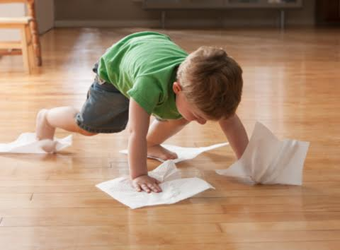 Cleaning with Kids; What's Working and What's Not