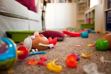 Tips and Tricks to Tackling Your Kids' Toys