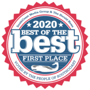 Voted Best of the Best First Place Southcoast