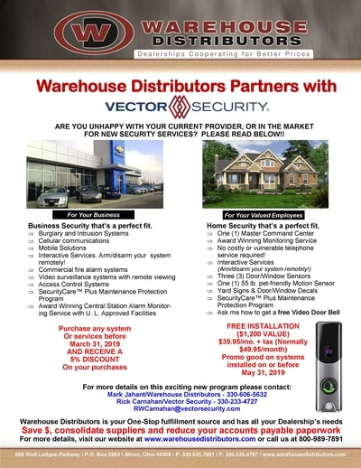 Vector Security Promotion