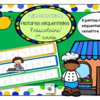 Atelier-Nutrition-préscolaire-1re-année-histoires-séquentielles-page-1