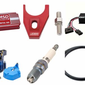Ignition Box | Coil | Distributer | Chips | Mounts | Caps | Rotors