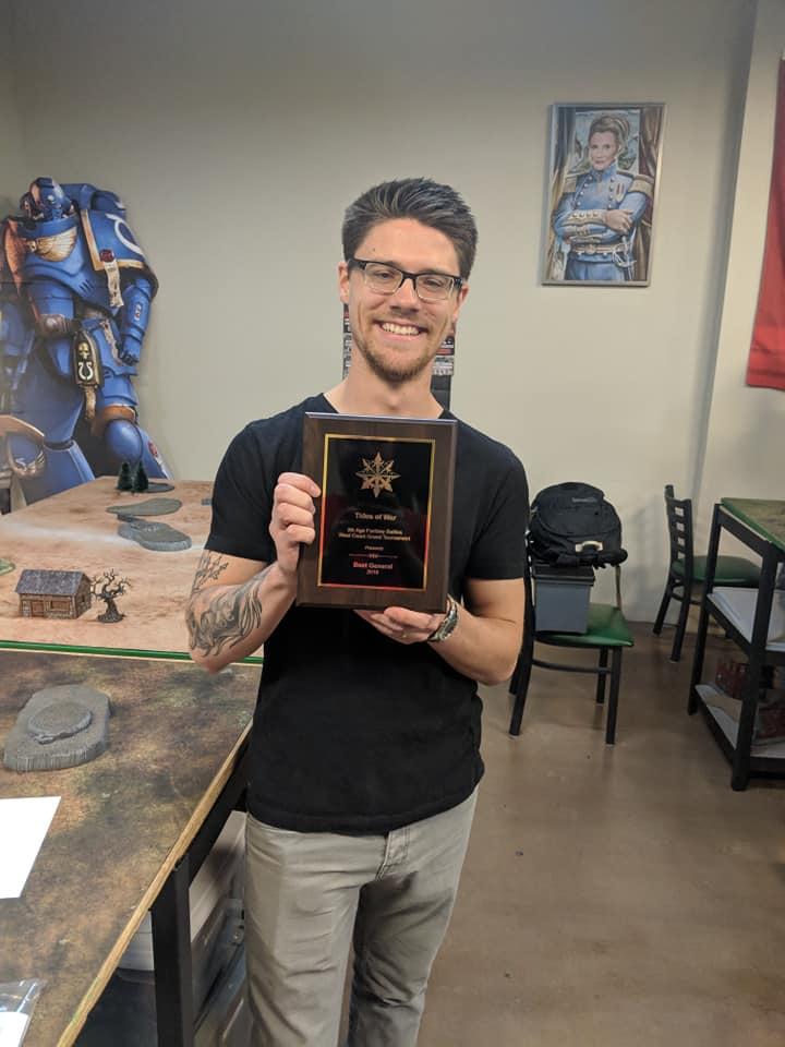 Ben Kerr - Best General, Tides of War 2018