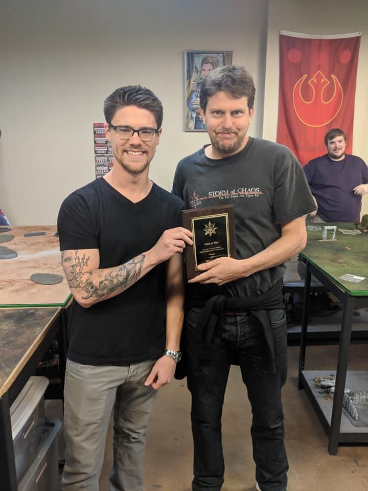 Micah - Winner of 2018 Tides of War
