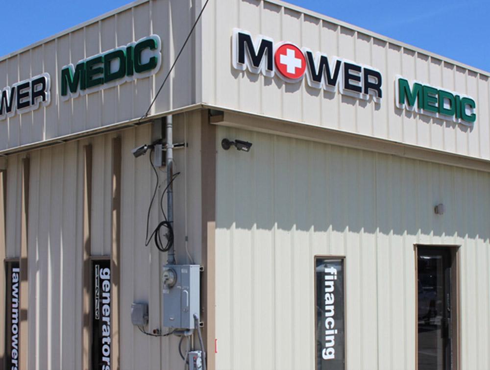Mower Medic South Jordan Utah Store Building
