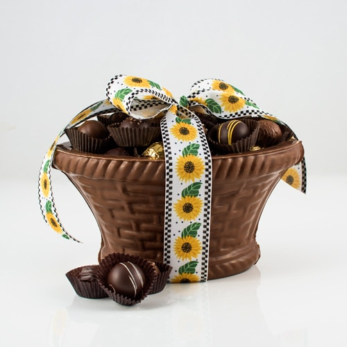 Chocolate Baskets filled with Chocolates
