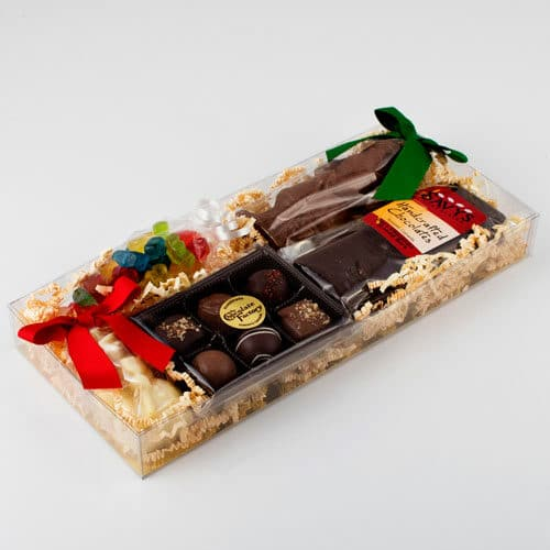 Chocolate Christmas Gift Box