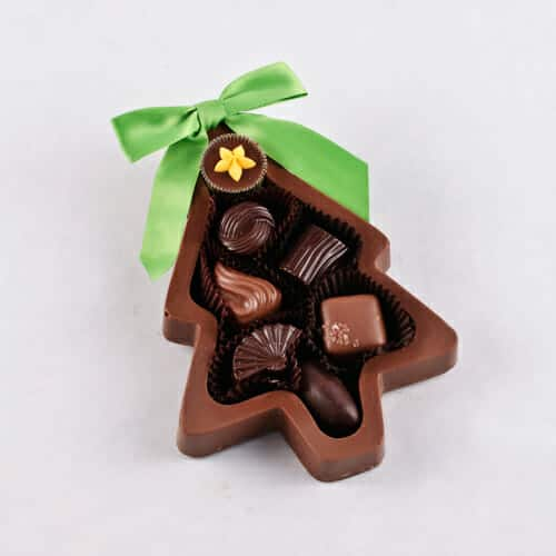Chocolate Christmas Tree Box