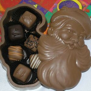 Chocolate Santa Box