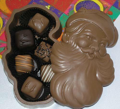 Chocolate Santa Box